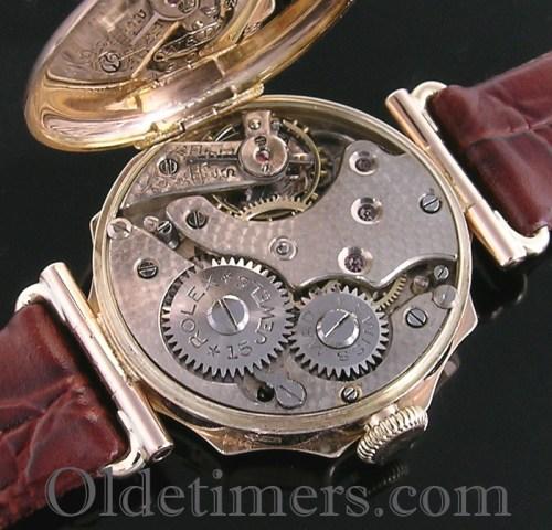 1920s 9ct gold ladies vintage Rolex watch