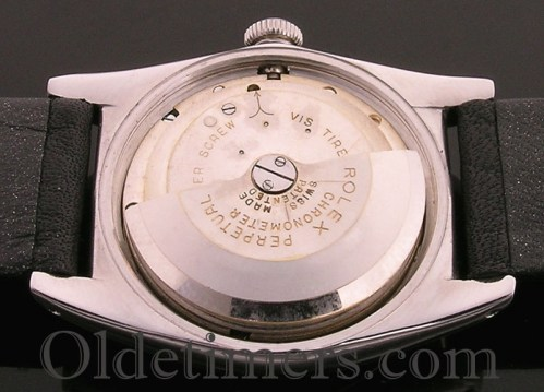 1940s steel vintage Rolex 'Bubbleback' watch