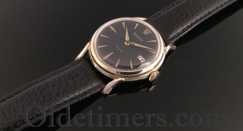 1960s 9ct gold vintage Rolex Precision watch