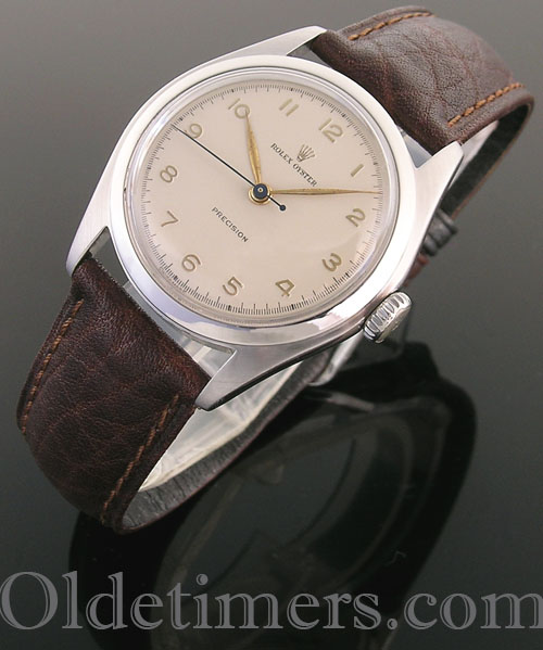 1950s steel vintage Rolex Oyster watch (3983)
