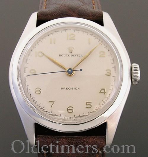 1950s steel vintage Rolex Oyster watch