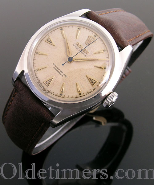 1950s steel vintage Rolex Oyster Perpetual watch (4121)