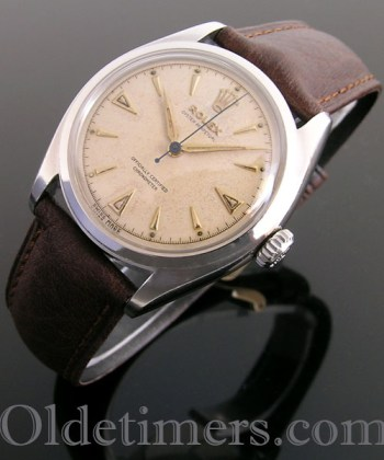 1950s steel vintage Rolex Oyster Perpetual watch