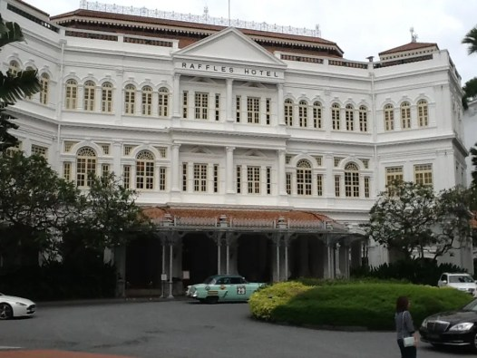 At the Raffles Hotel, Singapore