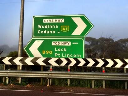 Heading to Ceduna for Breakfast