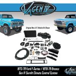 Vintage Air Blog Archive Vintage Air Announces New Air Conditioning System For The 1973 79 Ford F 100 And 1978 79 Bronco Vintage Air