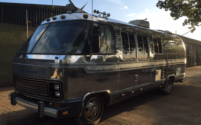 Book Of Vintage Airstream Motorhomes For In Spain By William