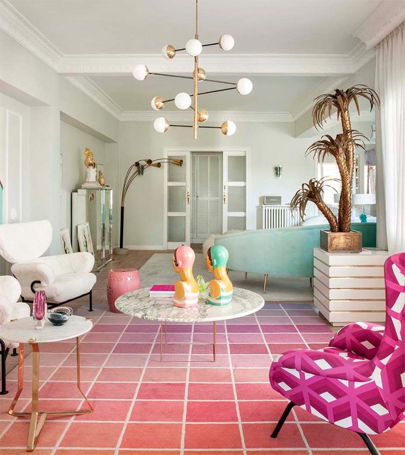 La Casa De La Interiorista Patricia Bustos Blossom Studio