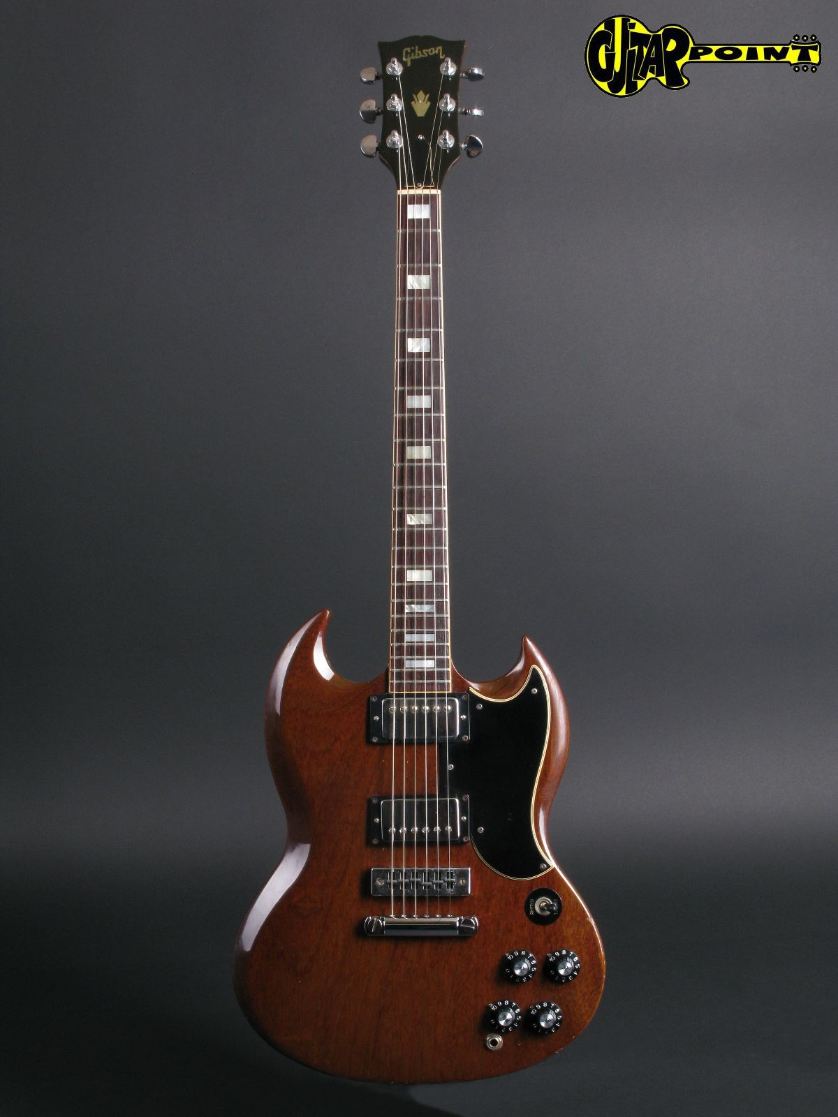Gibson SG Standard 1972 Cherry Guitar For Sale GuitarPoint
