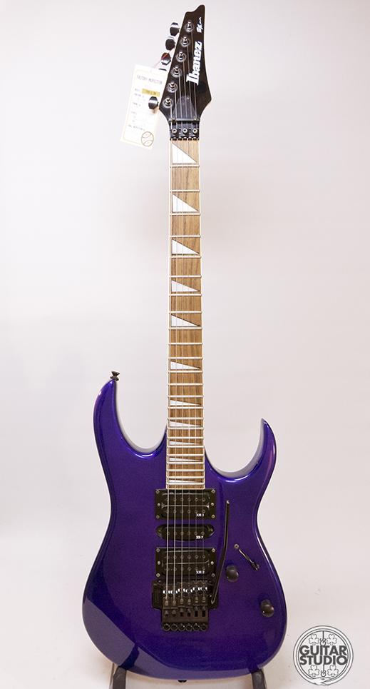 Ibanez EX370 1993 Purple Guitar For Sale Guitar Studio