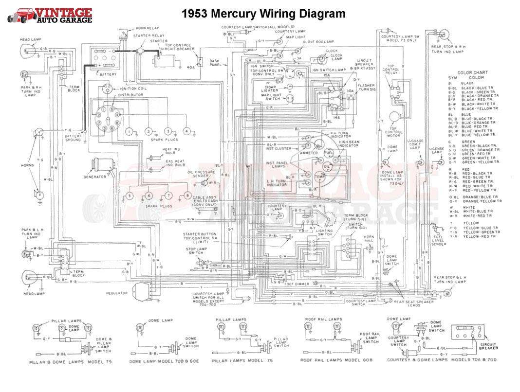 6 Volt Generator Wiring Diagram Mercury
