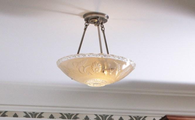 Vintage Originals Lighting Portfolio Glass Bowl Ceiling Fixture