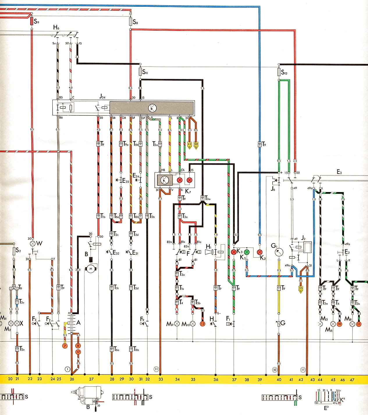 1973 Vw Beetle Ignition Coil Wiring Diagram : Vw bug ignition coil wiring diagram distributor