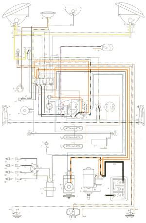 1974 Vw Beetle Headlight Wiring Diagram | Wiring Library