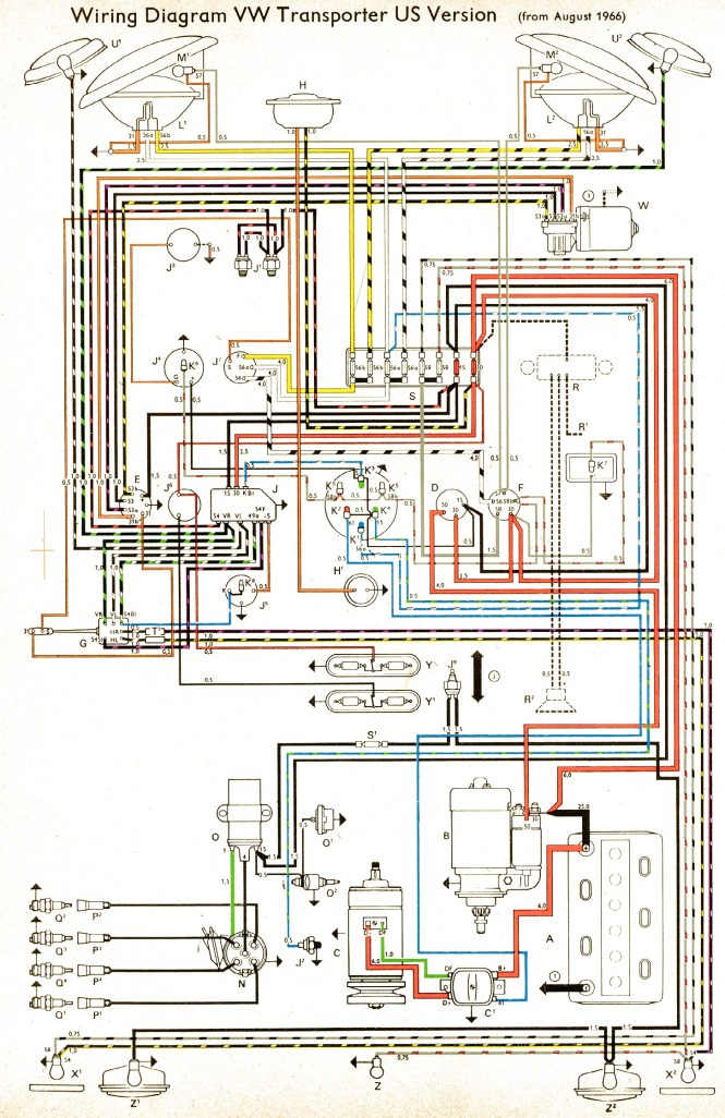c bus relay wiring diagram wiring diagrams vw 9 g box troubleshooting and replacement thesamba type 2 wiring diagrams source