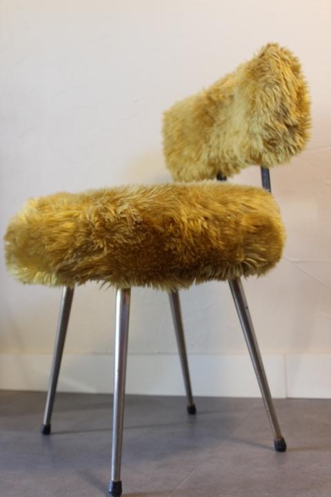 Fabichka Chaise Moumoute Vintage Chaise By Moumoute D2HYE9WI