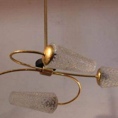 lustre suspension années 50
