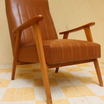 fauteuil esprit danois 1960 vintage