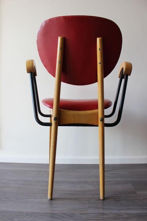 chaise stella vintage design scandinave associant ska. Black Bedroom Furniture Sets. Home Design Ideas