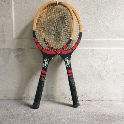 raquette tennis cadre bois