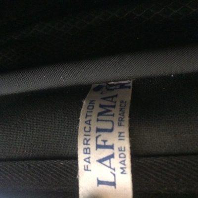 Ancien sac lafuma skai noir