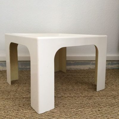 Table basse design par Marc Berthier pour prisunic