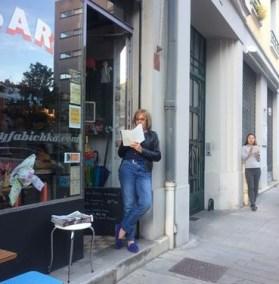 Apéro Croquis Café Brocante Vintage by fabichka