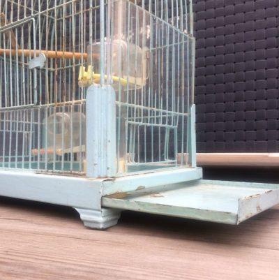 Cage à oiseaux années 50