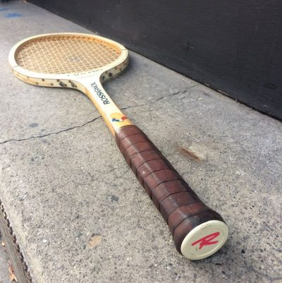 Raquette tennis vintage Rossignol