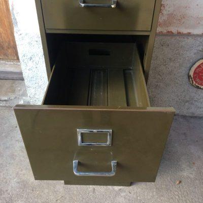 Authentique Meuble industriel 4 tiroirs STRAFOR