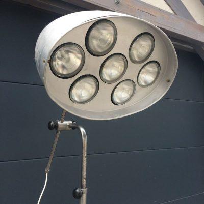 Lampe carrossier vintage RG Levallois