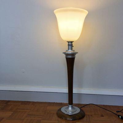 Lampe Mazda Art Déco