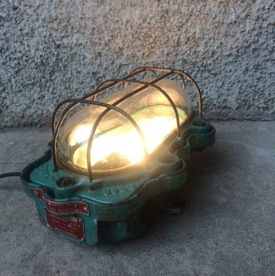 Lampe atelier vintage Perfeclair Paris