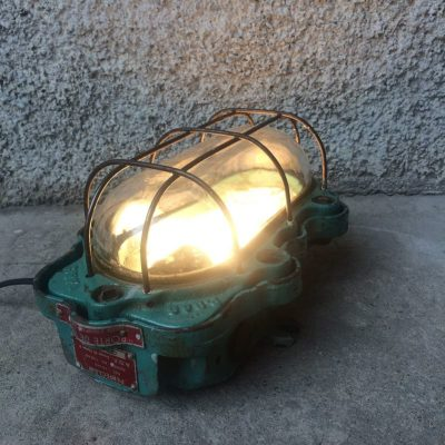 Lampe atelier vintage Perfeclair Paris