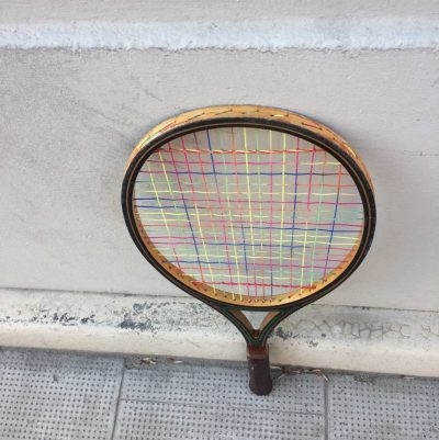 Raquette de tennis Prince woodie vintage