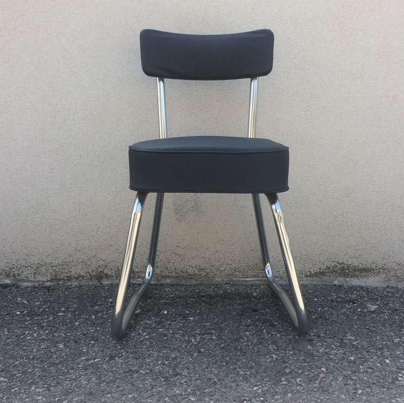 Chaise Bureau Design Industriel Vintage By Fabichka