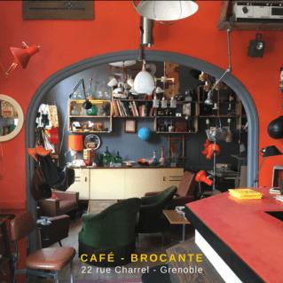 Café brocante vintage by fabichka