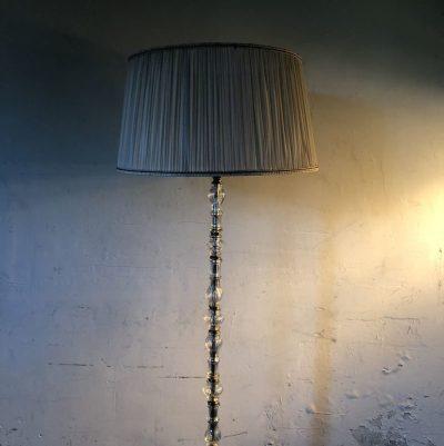 Ancien lampadaire style Art Déco