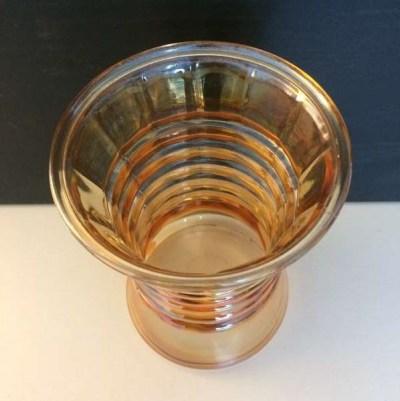 Vase verre Art Déco