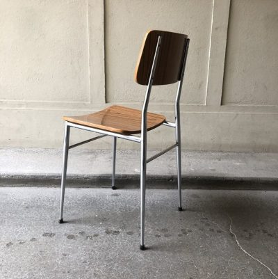 chaise formica années 70
