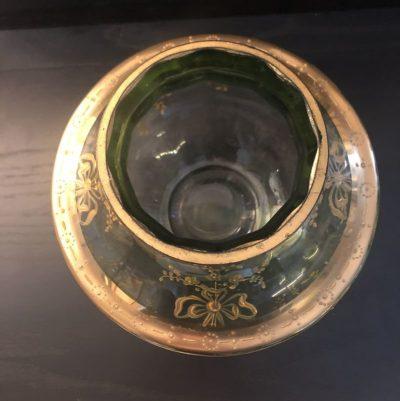 Vase art nouveau cristallerie Moser