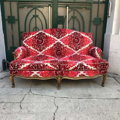 Canapé louis XIV vintage