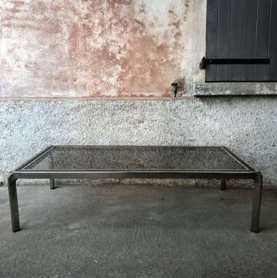 Table basse design années 80