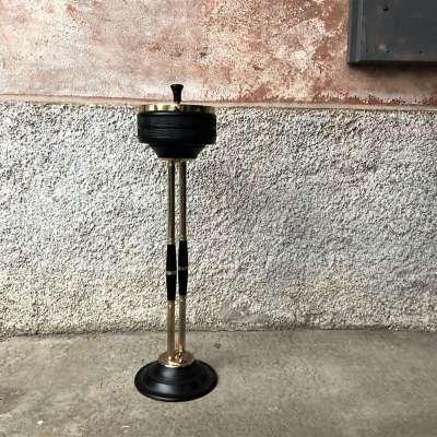 Cendrier étouffoir sur pied vintage
