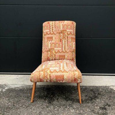 Ancien fauteuil design scandinave