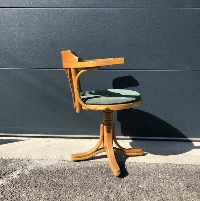 Ancien fauteuil bureau americain