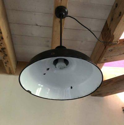 Ancien luminaire atelier