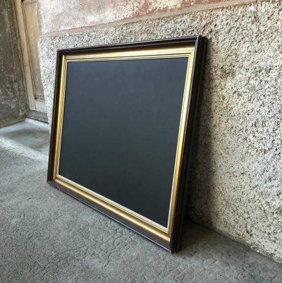Tableau noir menu vintage