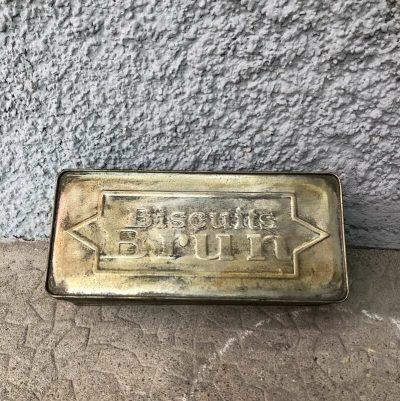 Publicité biscuits Brun