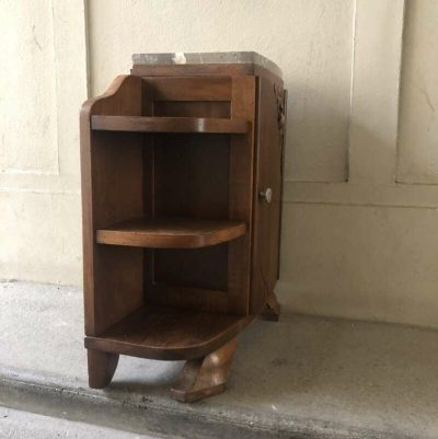 Ancienne table de chevet Art Déco